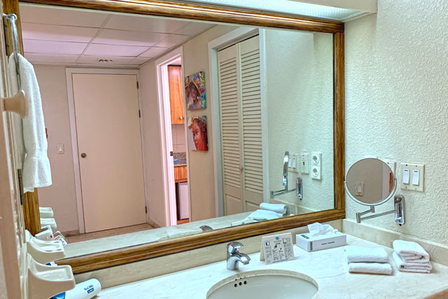 The Royal Sea Aquarium Resort Jr Suite bathroom